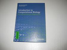 Introduction to Computational Biology von Bernhard Haubold, Thomas Wiehe (2006)