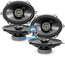"2 sets FOCAL AUDITOR RIP-570C 5""x7"" 6""x8"" CAR AUDIO 2-WAY COAXIAL 4 OHM SPEAKERS"