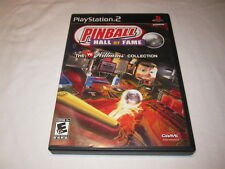Pinball Hall of Fame: Williams Collection (Playstation PS2) Complete LN Mint!