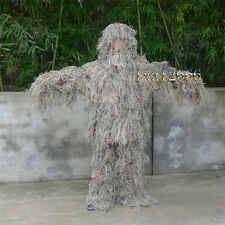 Desert Camo 3D Yowie Camouflage Ghillie Suit fro Hunting