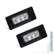 x2Pcs OE Error Free License Plate Light For AUDI A3 A4 A5 A6 A7 Q5 TT VW Passat