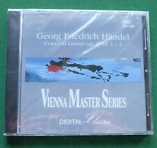 Handel Concerti Grossi Zanotelli Vienna Master Series New Sealed Mint CD