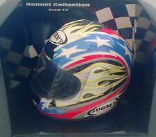 MINICHAMPS HELMET COLLECTION 1:2 CASCO DIE CAST SUOMY 2001 B. BOSTROM ART 011255