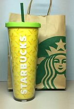 2016 Starbucks Cold-Cup Acrylic Tumbler PINEAPPLE design (NEW) HTF