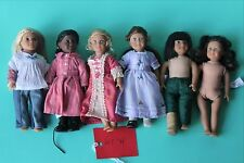 MINI AMERICAN GIRL LOT OF 6 (Lot H) JULIE ADDY FELICITY ELIZABETH RUTHIE