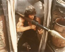SYLVESTER STALLONE RAMBO FIRST BLOOD PART II 1985 VINTAGE PHOTO ORIGINAL #6