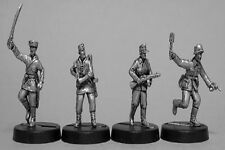 TQD GH34 20mm Diecast WWII German Anti-Partisan Infantry. Mixed Weapons+ Cossack