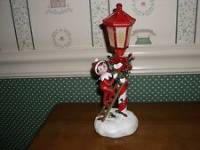 ROMAN-ELF ON THE SHELF - LED SCOUT ELF POLE NIGHT-LIGHT-NEW IN BOX