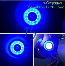 BLUE RING START KEY REMOTE LED FIT FORD RANGER T6 MK2 WILDTRAK FACELIFT 12-2016