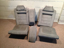 90-95 Vw Corrado - Rear Bench Seats - Full Set - Gray