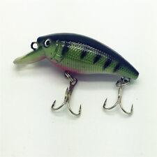 NEW Plastic Fishing 5.5g/5.5cm Minnow Lures Bass Crankbait Crank Bait Tackle A22