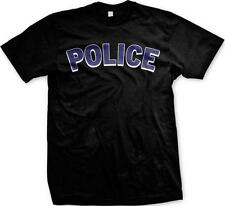 Police Protect and Serve Officer Cop First Responders Mens T-shirt