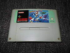 MEGA MAN X - SUPER NINTENDO SNES UK PAL GAME CART ONLY
