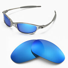 New WL Ice Blue Replacemet Lenses For Oakley Juliet Sunglasses