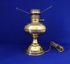Antique RAYO Brass Oil Lamp Electrified. Working Condition.