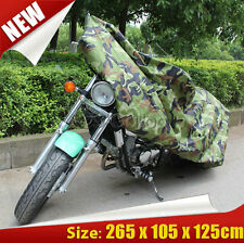 XXL camouflage Motorcycle Cover Fit Yamaha V-Star XVS 250 650 950 1100 1300