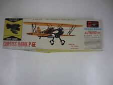 "Vintage Sterling #A110 CURTISS HAWK P-6E Balsa Wood Model Kit 16"" Wing Span"