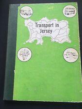 1961 1st Ed  Transport In Jersey Channel Islands Public Transport Rail Road Book