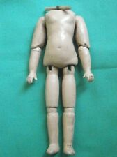 "doll body jointed composition antique 5  1/2"" stiff wrist, German"