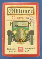 Oldtimer Quartett - BIELEFELDER SPIELKARTEN - Nr. 0167 - von 1966 - Auto - Joker