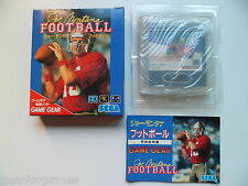 SEGA GAME GEAR JOE MONTANA FOOTBALL JPN JAP JAPAN TESTED PLAY IN ANY CONSOLE