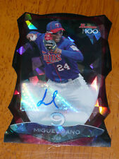 MIGUEL SANO Twins 2013 Bowman Chrome Top 100 Atomic AUTO #1/1 Die Cut Autograph
