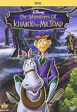 Disney's The Legend of Sleepy Hollow Ichabod and Mr Toad, Halloween 2014 DVD NEW