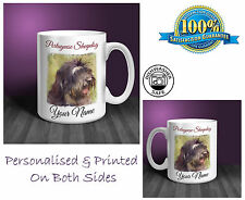 Portuguese Sheepdog Personalised Ceramic Mug: Perfect Gift. (D175)