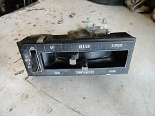 1969 1970 1971 1972 Buick Skylark GS GSX Stage 1 Special Non A/C Heat Selector