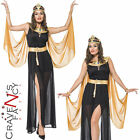 Adult Cleopatra Costume Queen of the Nile Sexy Egyptian Fancy Dress Womens 8-18
