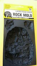 ROCK MOLD - LACED FACE ROCK - Woodland Scenics #1235 C1235 Model Trains