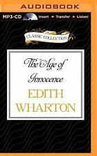 The Age of Innocence by Edith Wharton (2015, MP3 CD, Unabridged)