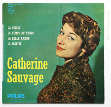 CATHERINE SAUVAGE Le temps du tango french 1959 philips 432268 BE EP +TAG