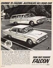 1963 FORD XL FALCON A3 POSTER AD SALES BROCHURE ADVERTISEMENT ADVERT