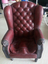 """1/6 Scale CMToys Red Single Sofa Chair Furniture Model For 12"""" Action Figure"""