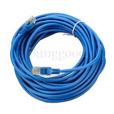 10M 30ft CAT5E CAT5 RJ45 Ethernet Internet Network Patch Lan Cable Cord Blue hot