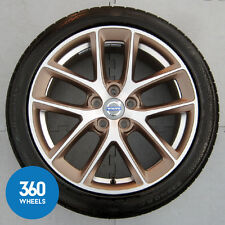 "NEW GENUINE VOLVO 18"" S60 5 DOUBLE SPOKE MODIN ALLOY WHEEL CONTI TYRE 9487105"