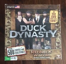 Duck Dynasty Redneck Wisdom Quotes & Trivia Board Game Complete Unplayed