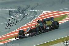 "Formula One F1 Driver Bruno Senna Lotus Hand Signed Photo 12x8"" R"