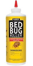 Harris HDE-8 Bed Bug Diatomaceous Earth Powder, 8 Oz
