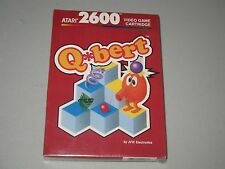 Vintage NEW SEALED RED BOX Qbert (Atari 2600, 1983) RARE PIECE OF HISTORY