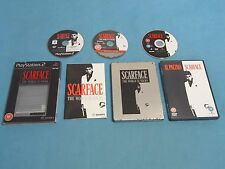 SCARFACE Limited Steelbook Collector's edition   game for PS2 + BONUS DVD - PAL