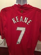 Liverpool Shirt-7 Keane Size XL