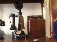 Original GPO 150 Candle Stick Telephone C1927 With Bell Box (Restored & Working)