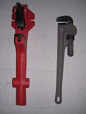 "NEW FOOT VISE & PIPE WRENCH 1-1/4""-2"" ROTHENBERGER COLLINS PONY Pipe Threader"