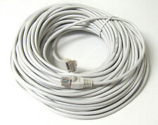 32FT 30ft RJ45 CAT5 CAT5E ETHERNET LAN NETWORK White CABLE