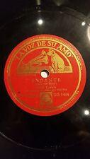 CELLO 78 rpm RECORD VsA PABLO CASALS Blai-Net PIANO Otto Schulhof ANDANTE /...