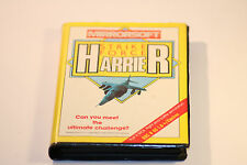 BBC MICRO B /Electron Strike Force Harrier By Mirrorsoft 1986 (Simulation Game)