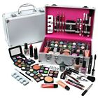 Make Up Beauty Box 60 Piece Vanity Case Cosmetic Travel Storage Gift