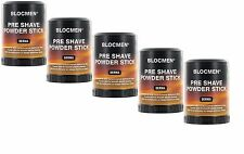 5 x BLOC MEN © pre shave Powder Stick derma 60g (100g = 14,83 euro)